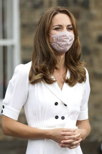 Kate Middleton's Floral Face Mask Is Too Cute Not To Shop