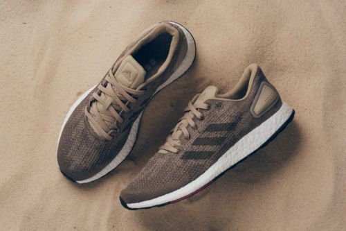Adidas PureBOOST DPR Refreshes in Tan and Black