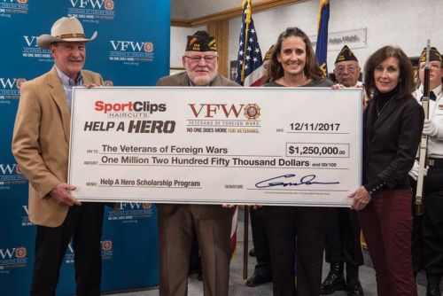Sport Clips Helps Students Through the Help A Hero Scholarship