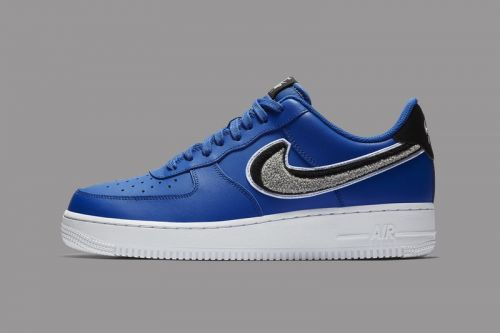 Nike Applies 3D Chenille Swooshes to the Air Force 1 Low