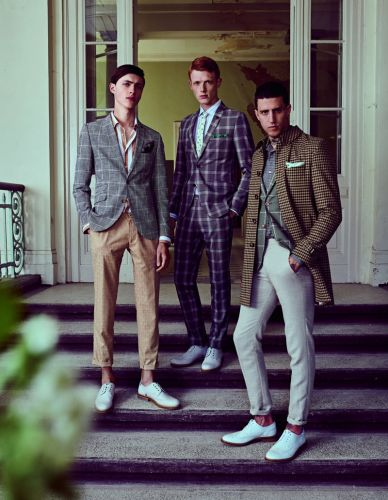 Linus Wordemann, Miles Langford & Sep Graf are Dapper for Club of Gents Spring '19 Campaign