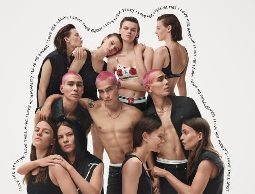 Calvin Klein's new CK ONE campaign is a genderless celebration