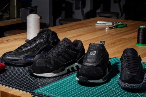 """Adidas Originals Continues Its """"Never Made"""" Releases With Triple Black Colorways"""
