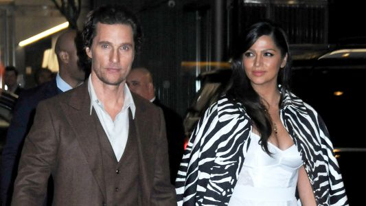 We're Feeling Everything About Matthew McConaughey and Camila Alves' Outfits At The 'Serenity' Premiere