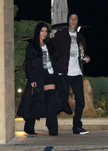Inside Kourtney Kardashian and Travis Barker's Date Nights: Dinners, Palms Springs and More