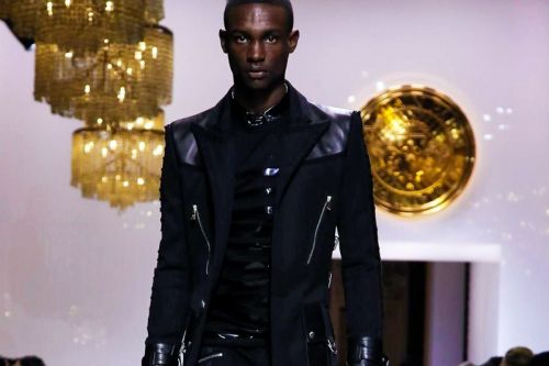 Balmain Taps Skinny Jeans, Sequins & Patent Leather for Fall/Winter 2018