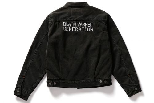UNDERCOVER Emblazons Levi's With Skeletons and Embroidery