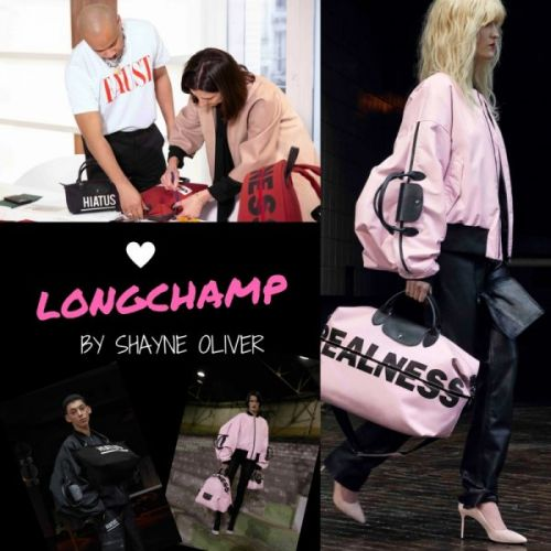 Longchamp by Shayne Oliver