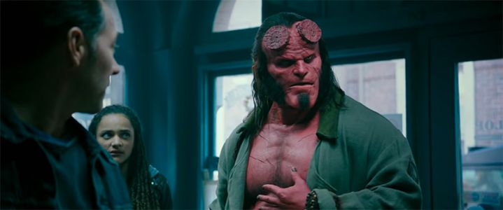 Hellboy strikes again with Neil Marshall's R-rated reboot of the cult comic book and movie series