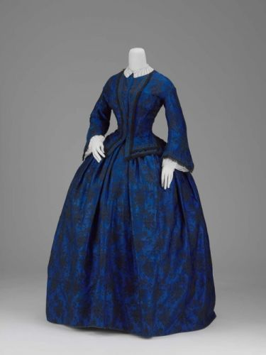 Fashionsfromhistory: Day Dress Early 1850s Museum of Fine Arts
