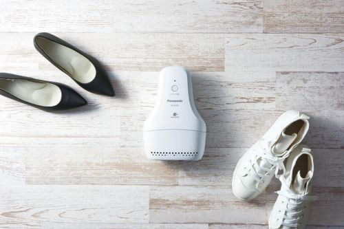 Deodorize Your Shoes While You Sleep with Panasonic's Shoe Deodorizer Device