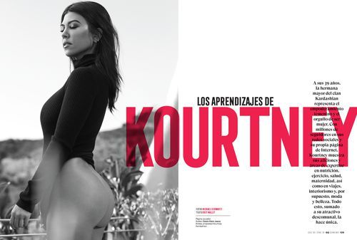 See The Pics - Kourtney Kardashian Poses Completely Naked In Sexy 'GQ Mexico' Spread
