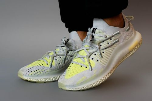 Check Out adidas' IIM 4D In Gray and Yellow