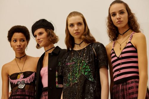 Dior celebrates female artists and girls of the 60s