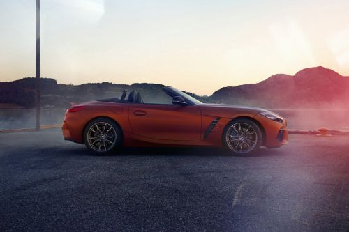 A First Look at 2019's BMW Z4 Sports Car