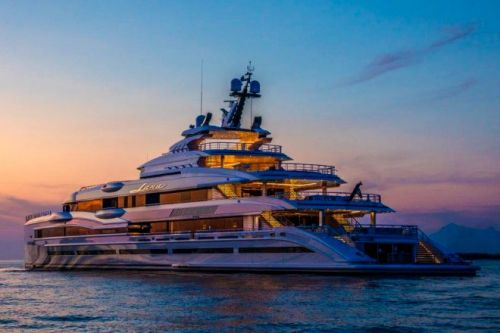 Benetti Delivers 107m Lana, Available for Charter with Imperial