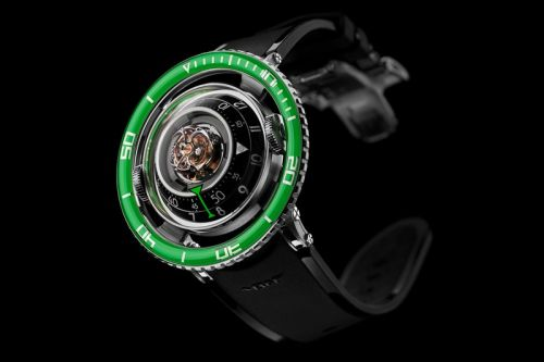 MB&F Drops a Green Version of Its Jellyfish-Inspired Aquapod