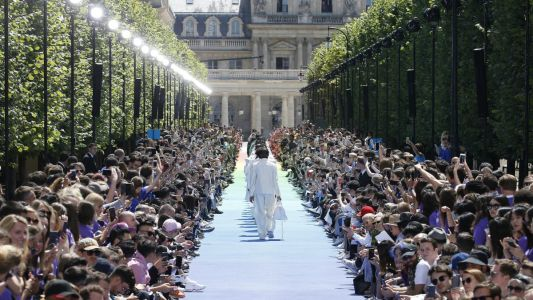 Virgil Abloh Did His Debut Louis Vuitton Show for the Kids