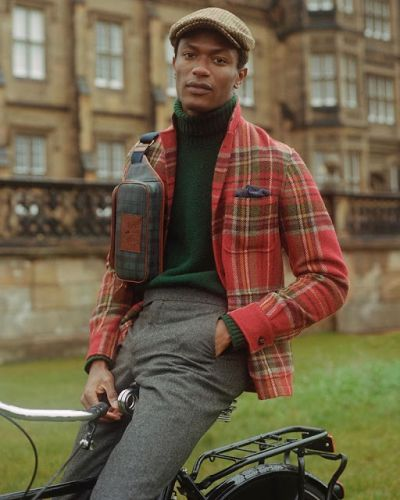 Polo Ralph Lauren Fall 2019: Hamid Onifade