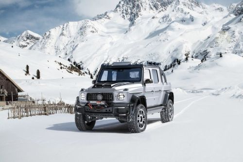 Brabus Converts the Mercedes-AMG G63 Into a Performance 4x4 Pickup