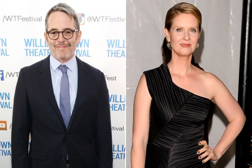 Matthew Broderick: Cynthia Nixon will have to work for my vote
