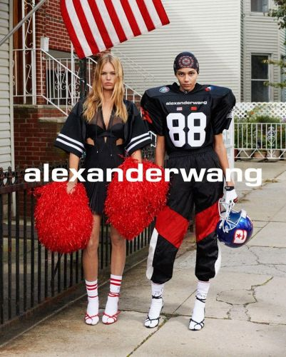 A first look at Alexander Wang's new Americana-filled campaign