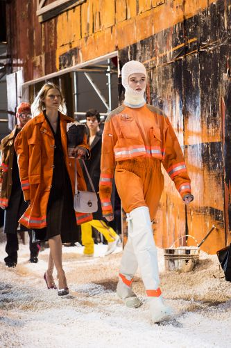Calvin Klein rewrites script to give a vision of a turbulent America on the catwalk