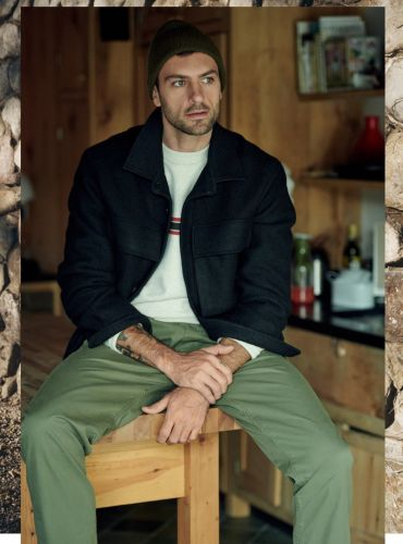Rafael Lazzini Embraces Casual Cold-Weather Style for East Dane