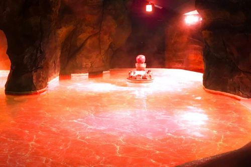 Bathe in Japan's Red Evangelion-Themed Hot Spring