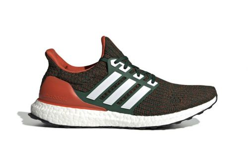 "Adidas UltraBOOST 4.0 ""Miami Hurricanes"" Arrives Next Month"