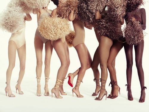 Christian Louboutin Diversifies It's Nude Collections With Eight Skin-Perfect Shades