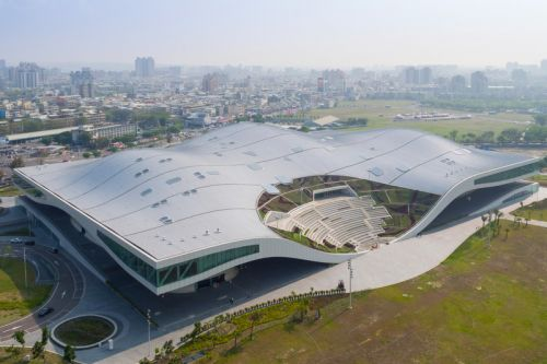 The World's Largest Performing Arts Center Opens in Taiwan
