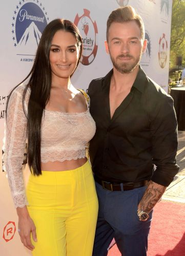 Artem Chigvintsev Teases Wedding With Fiancee Nikki Bella Will Be 'Soon' After Welcoming Son Matteo