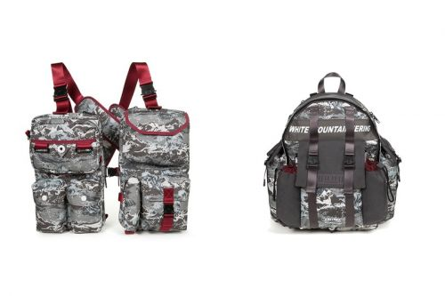 White Mountaineering Drops Tactical Camo-Print & Monochrome Eastpak Collaboration