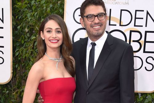 Emmy Rossum lets her fiancé pick out her red-carpet outfits