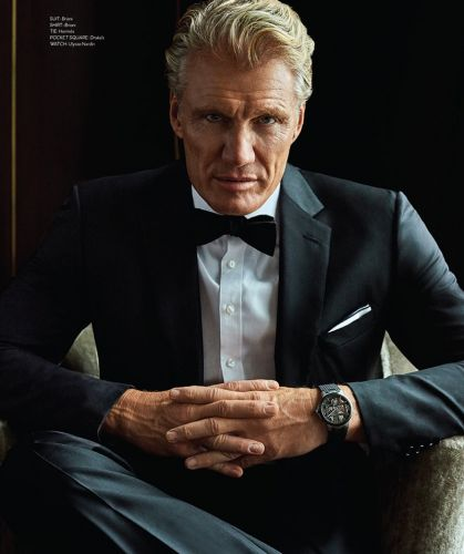 Dolph Lundgren Covers Haute Living, Discusses 'Creed II'