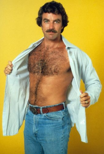 A pop culture timeline of the rise of chest hair