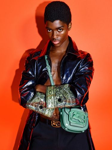 Alton Hits Poses for Etro Pegasus Club Campaign
