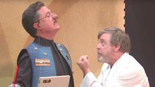 Mark Hamill Lets Stephen Colbert Live Out His 'Star Wars' Dream