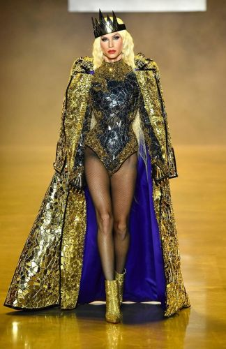 Disney Villains x The Blonds Spring 2019: New York Fashion Week