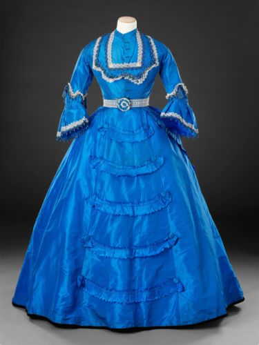 Dress with Day & Evening Bodicesc.1869-1870The John Bright