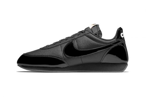 An Official Look at the COMME des GARÇONS Black x Nike Night Track