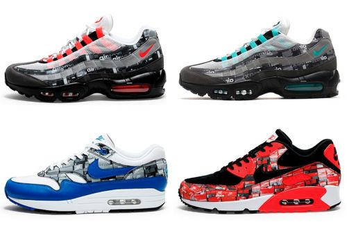 """A Full Look at the atmos x Nike Air Max """"WE LOVE NIKE"""" Pack"""