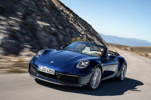 Here's Your First Look at the 2020 Porsche 911 Carrera Cabriolet