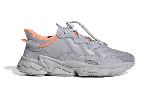 """Adidas' OZWEEGO Given """"Halo Silver"""" and """"Screaming Orange"""" Makeover"""