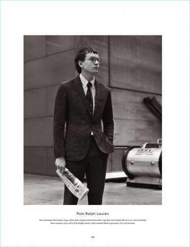 Sid Ellisdon is On the Move for Esquire UK
