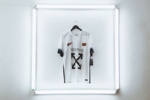 Off-White™ Teams Up With Nigerian Label Vivendii for Exclusive Nike Football Top