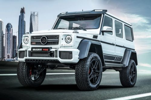 BRABUS's 4x4² Final Edition Is a 700hp Off-Road Beast