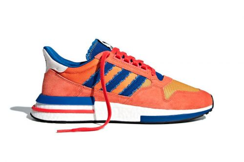 "Advent Calendar Day 14: Autographed 'Dragon Ball Z' x adidas Originals ZX 500 RM ""Goku"""