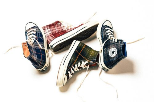Converse Wraps the Chuck Taylor All Star 70 Hi in Heritage Plaid